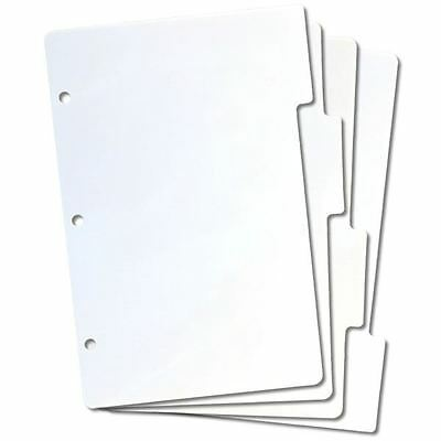 4 x EZMount Mini Tabbed Unmounted Cling Stamp Storage Panel Binder Refills