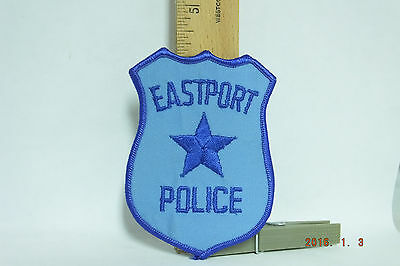 Eastport Maine Police Patch Iron-on