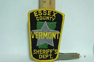 Essex County Vermont Sheriff's Dept. Police Patch Sew-on