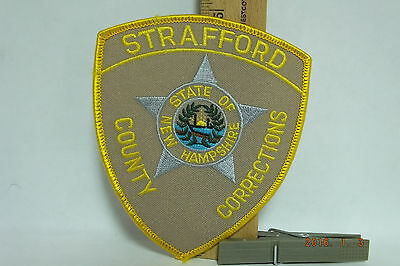 Strafford County Corrections New Hampshire Police Patch Iron-on