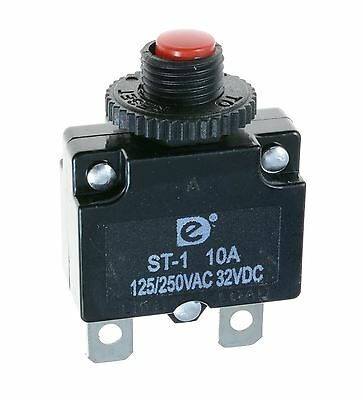 20A Resettable Panel Mount Thermal Circuit Breaker
