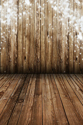 Nostalgia Wood Wall Floor Studio Backdrop Photography Photo Background 3x5ft