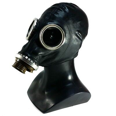 RUSSIAN MILITARY GAS MASK BLACK GP-5 Genuine surplus respiratory MEDIUM NEW