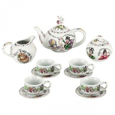 Cardew Alice In Wonderland Miniature Collectors Tea Set New Gift