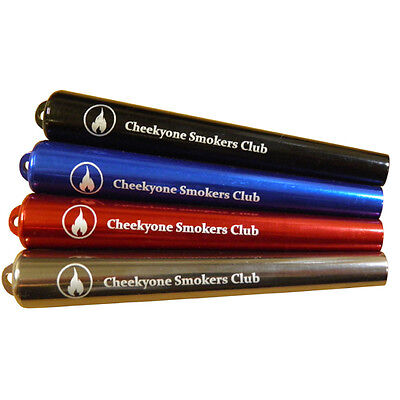 Cheeky One Smokers Club Metal Cig Cigarette Holder Protector Case Joint Air Seal