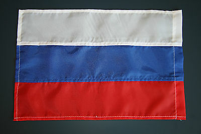 9 Russian Flags 28x19sm 100% Polyester Russia Federation National Banner