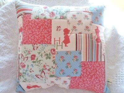 Patchwork Quilting Kit Cushion Craft Sewing Kit Holly Hobbie Fabrics Gorgeous!