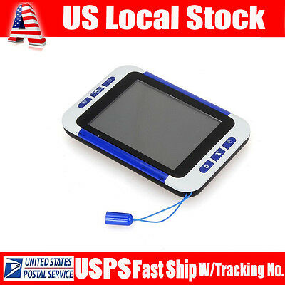 """3.5"""" Portable Reading Digital Viewing Video Magnifier Eyesight-Aiding A01"""