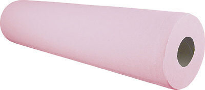 "6 x Paper Roll 20"" 40M Pink Hygiene Beauty Salon Massage Couch Table Bed Cover"