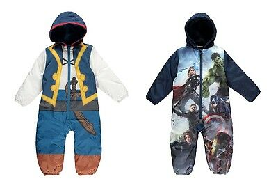 Genuine Authentic JAKE or MARVEL AVENGERS Warm Snow Suit Hooded Padded WINTER