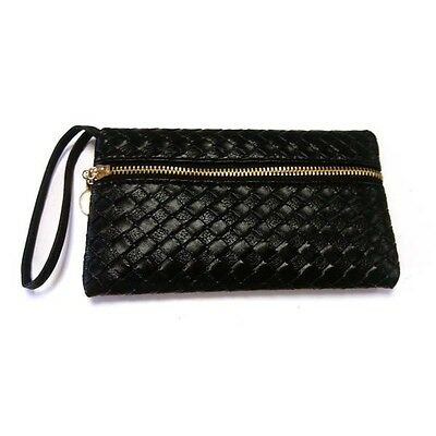 Fashion Women's Faux Leather Embossing Clutch Evening Handbag Bag Handbag Purse