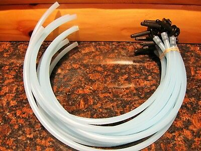 "NEW 10 Maple Taps/Spouts 5/16""Tree Saver Spiles & 10 HOSES 24"" *FREE SHIPPING"