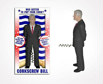 BILL CLINTON CORKSCREW The Perfect Gift for any Political Persuasion