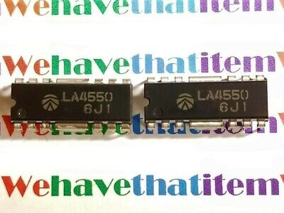 LA4550 / IC / DIP / 2 PIECES /  (qzty)