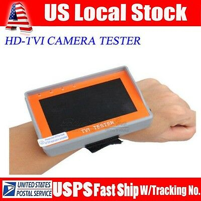 "Wrist 4.3""LTPS LCD Portable HD1080P TVI CCTV Camera Video Tester Monitor 12V-Out"