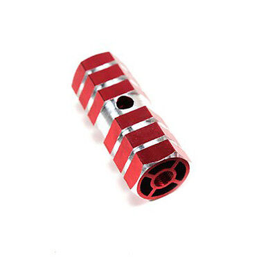 Red Axle Foot Pegs For Bicycle Bike L3