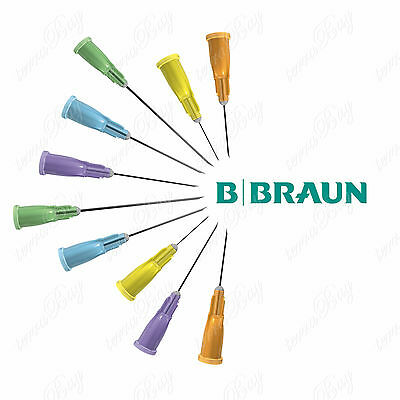 Hypodermic Sterile Needles BBraun Sterican Choice of Gauge, Sizes & Quantity
