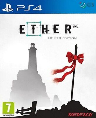 Ether One Limited Steelbook Edition PS4 * NEW SEALED PAL *