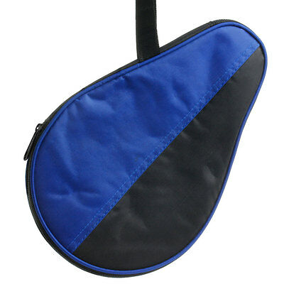 Waterproof Table Tennis Case Ping Pong Racket Paddle Bat Cover Pouch Case Bag