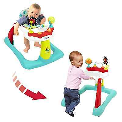 Tiny Steps 2-in-1 Activity Walker Converts From Seated To Behind Baby Grow New