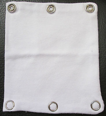 Baby Romper Bodysuit Extender for Cloth Nappy or Extra Length Add 4cm White