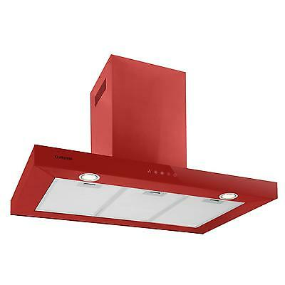 POWERFUL 90 cm KITCHEN STOVE EXTRACTOR COOKER HOOD FAN GLASS PANEL * FREE P&P UK