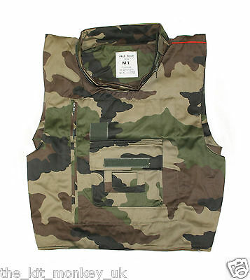 French Air Force Body Armour / Bullet proof vest cover CCE Camo New
