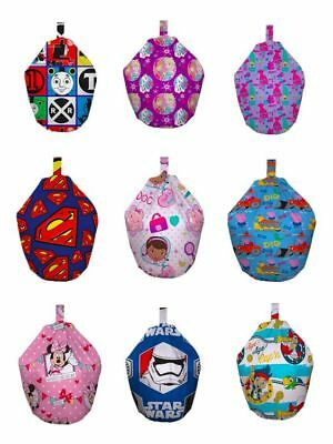Childrens Character Filled Beanbags Official Merchandise Various Characters