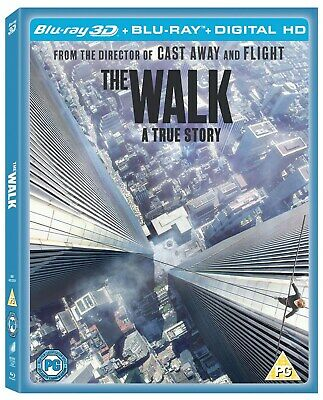 The Walk (3D Edition + UltraViolet Copy) [Blu-ray]