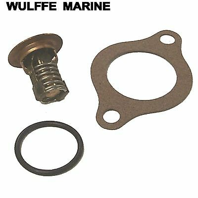 Thermostat Kit 140 Degree for OMC Cobra & Volvo 18-3676 Replaces 3853983-9