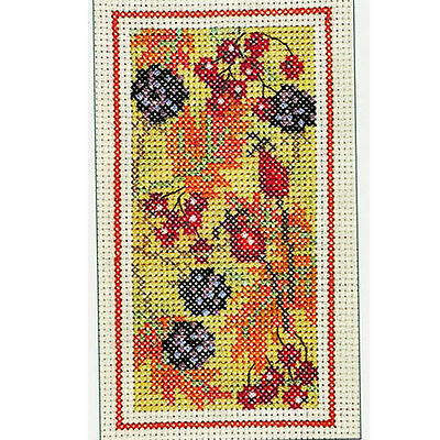 Derwentwater Designs Autumn Hedgerow Cross Stitch Kit