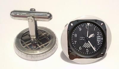 Cessna-172-Attitude-Indicator   Mens Cufflinks ,Brithday  Gifts