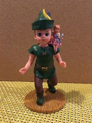 Madame Alexander Peter Pan With Tinker bell Resin Figure Numbered