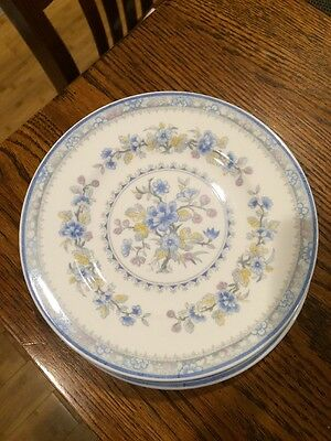 4 Coalport Pearl Bread & Butter Plates / Dishes