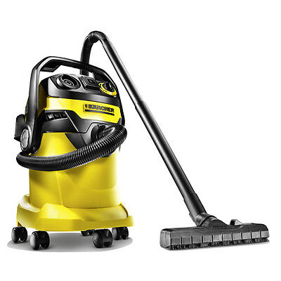 Karcher WD5/P 6.6 Gallon Wet/Dry Vacuum with Power Outlet 1.348-197.0 New