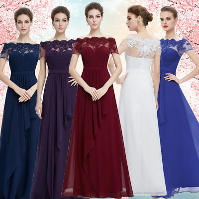 8aba49f273 Ever Pretty Women Sexy Long Formal Evening Cocktail Party Gown Prom Dress  08490