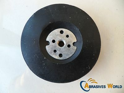 "Fibre sanding pad rubber backing pad for 4"" 5"" 7""angle grinder for sanding metal"
