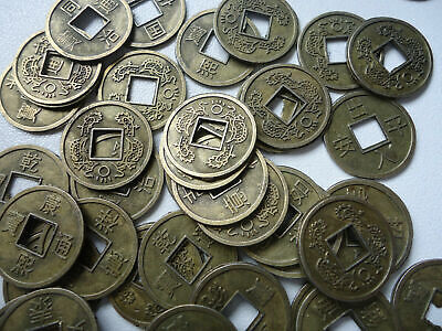 25 Pcs Chinese  Feng Shui Fortune Auspicious Coins/I Ching/ 16mm Dia(FS-CO34)