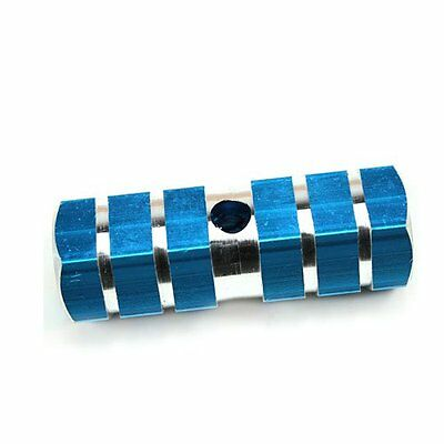 Blue Axle Foot Pegs for Bicycle Bike LK