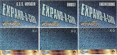 Star Trek Voyager Season 1 Rare Sealed Expand A Card Redemption Set