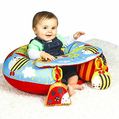 Red Kite Sit Me Up Garden Gang Inflatable Ring Baby play chair