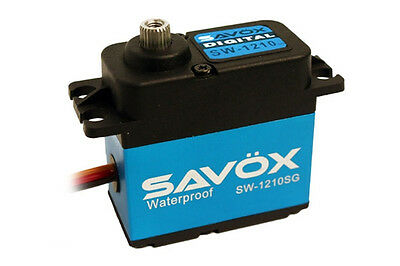 Savox Sw-1210Sg Waterproof Coreless Steel Gear Digital Servo - Ip67