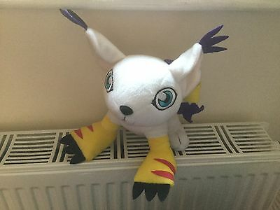 "Digimon Gatomon 9"" Soft Toy Plush Label Has Been Removed"