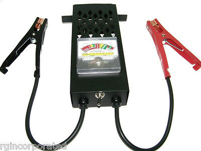 6 and 12 volt  Battery Load and charging System Tester Chargers