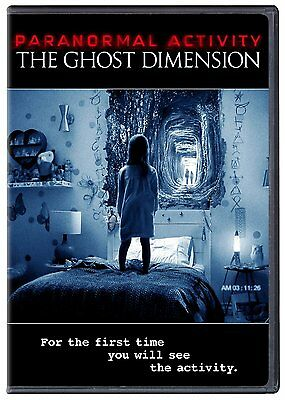 Paranormal Activity: The Ghost Dimension (DVD, 2016)  (DVD ONLY NO BOX ART)
