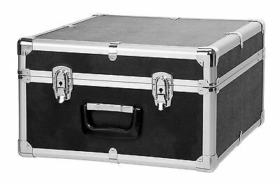 Deluxe Accordion Case For 48 Bass Instrument Lockable Metal Exterior Carry Bag
