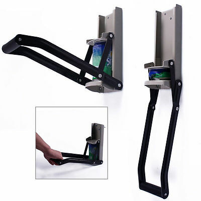 H/DTY ALUMINIUM CAN CRUSHER 470ML WALL MOUNT & Bottle Opener Beer Recycling 16Oz