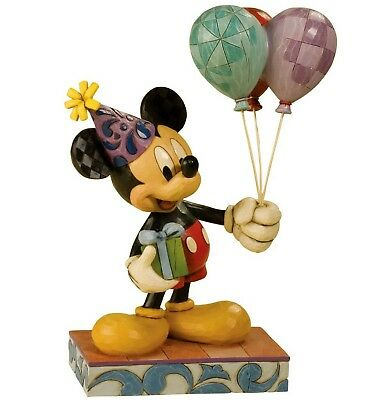 "DISNEY-Skulptur - ""MICKEY - CHEERFUL CELEBRATION"" - Jim Shore Figur 4013255 NEU!"