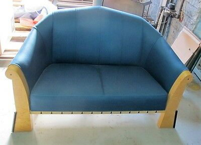 Original MICHAEL GRAVES Settee for Sunar Hausman  c. 1981  Modernist Couch