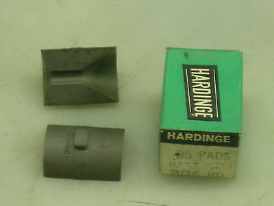 NEW HARDINGE S20 COLLET PADS 1-59//64 RD SM FRACTIONAL ROUND SMOOTH NIB
